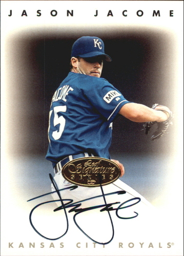 Photo of 1996 Leaf Signature Autographs Gold #115 Jason Jacome
