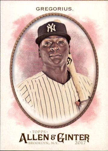 Photo of 2017 Topps Allen and Ginter #210 Didi Gregorius