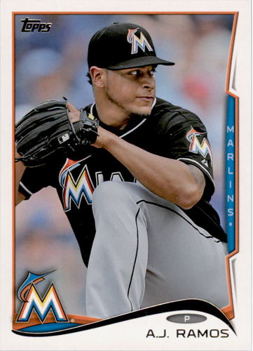 Photo of 2014 Topps #353 A.J. Ramos