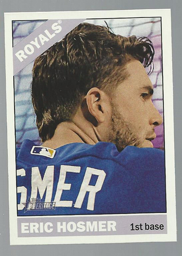 Photo of 2015 Topps Heritage #381 Eric Hosmer