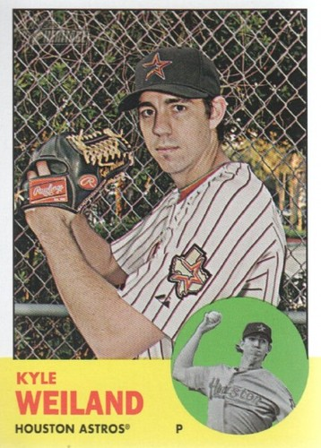 Photo of 2012 Topps Heritage #216 Kyle Weiland