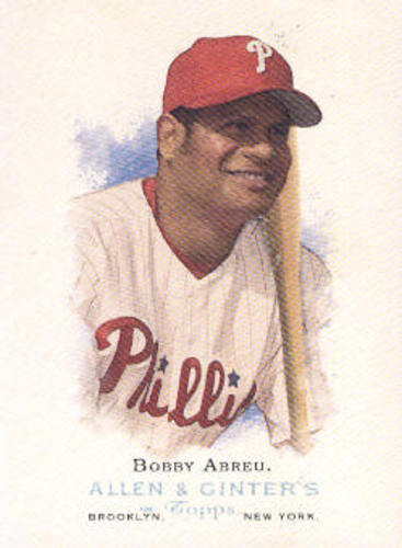 Photo of 2006 Topps Allen and Ginter #46 Bobby Abreu