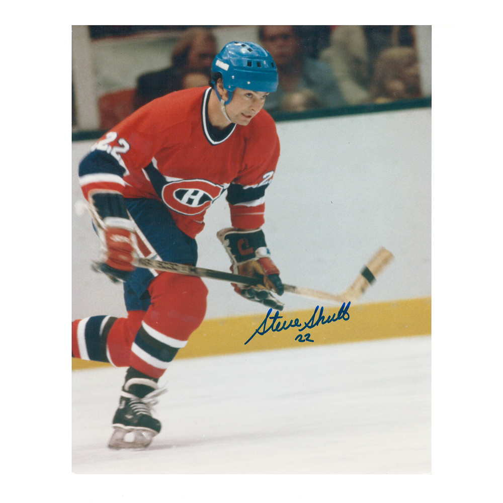 STEVE SHUTT Signed Montreal Canadiens 8 X 10 Photo - 70007