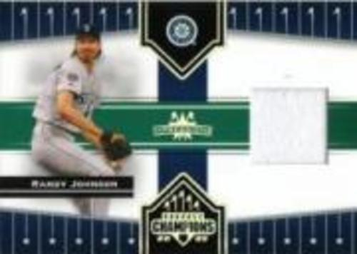 Photo of 2005 Donruss Champions Impressions Material #137 Randy Johnson M's Jsy T3