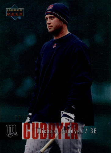 Photo of 2006 Upper Deck Special F/X Green #281 Michael Cuddyer /99