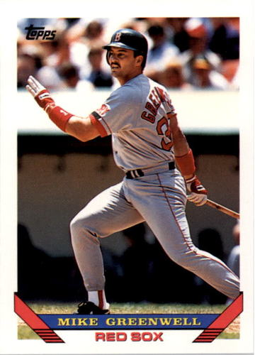 Photo of 1993 Topps #323 Mike Greenwell