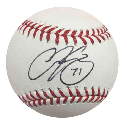 Cardinals Authentics: Carson Kelly Autographed Baseball
