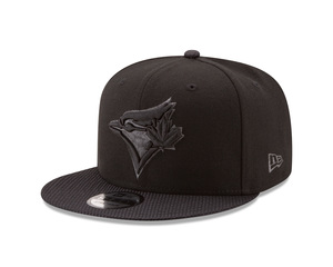Toronto Blue Jays Savvy Strapback Black Cap by New Era