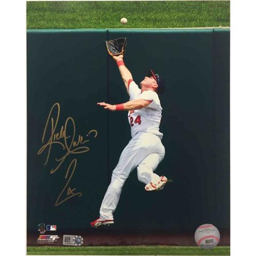 Cardinals Authentics: Rick Ankiel Autographed Photo