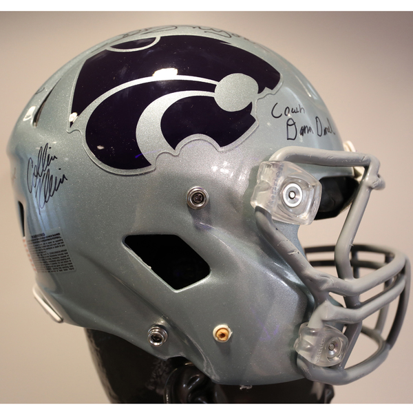 Kansas State Autographed Full-Size Football Helmet