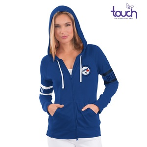 Toronto Blue Jays Women's Touch Zip Hoody by G3