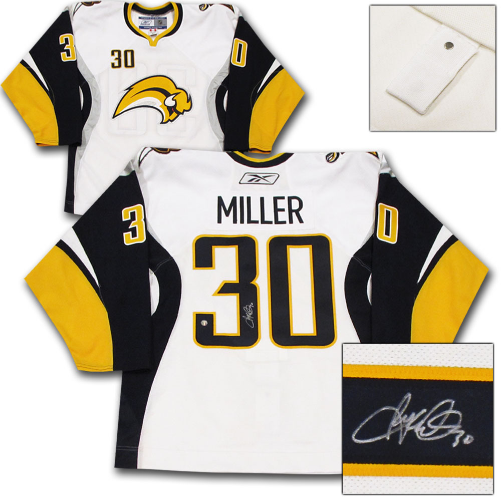 Ryan Miller Autographed Buffalo Sabres Authentic Pro Jersey