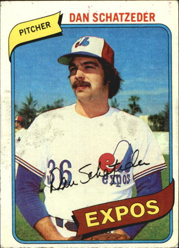 Photo of 1980 Topps #267 Dan Schatzeder