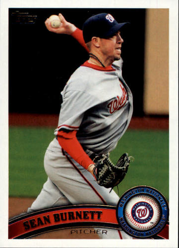 Photo of 2011 Topps Update #US102 Sean Burnett