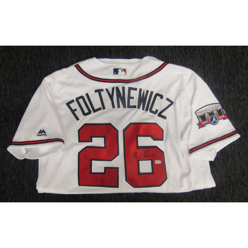 Photo of Braves Charity Auction - Mike Foltynewicz Jersey