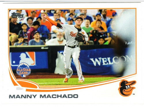 Photo of 2013 Topps Update #US216A Manny Machado
