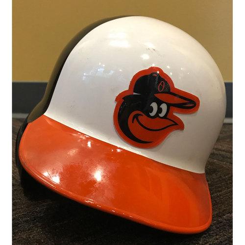Photo of Chris Davis - 2017 Spring Training Helmet: Game-Used