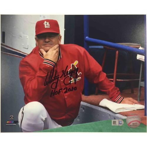 Photo of Cardinals Authentics: Whitey Herzog Autographed Photo