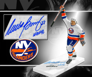 Mike Bossy New York Islanders Autographed McFarlane Figurine