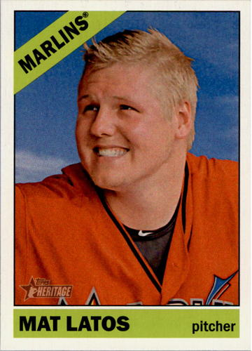 Photo of 2015 Topps Heritage #382 Mat Latos