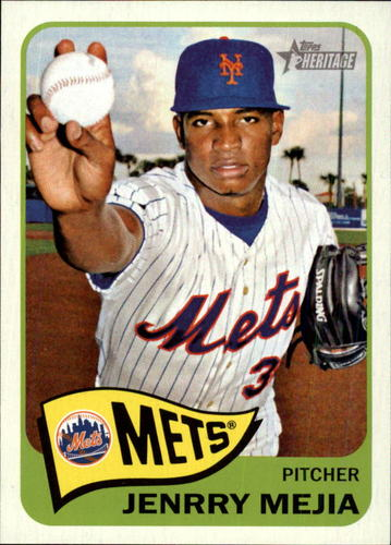 Photo of 2014 Topps Heritage #93 Jenrry Mejia