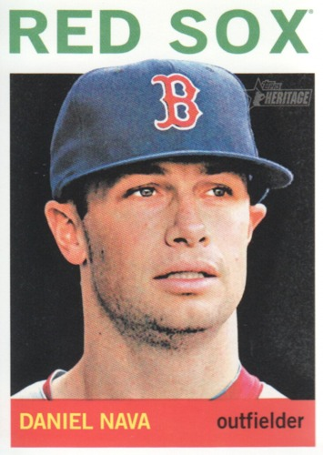 Photo of 2013 Topps Heritage #343 Daniel Nava