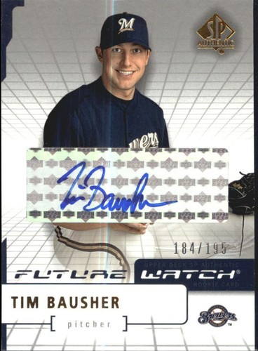 Photo of 2004 SP Authentic Future Watch Autograph 195 #130 Tim Bausher FW