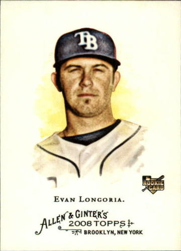 Photo of 2008 Topps Allen and Ginter #177 Evan Longoria RC