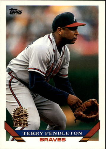 Photo of 1993 Topps Inaugural Marlins #650 Terry Pendleton