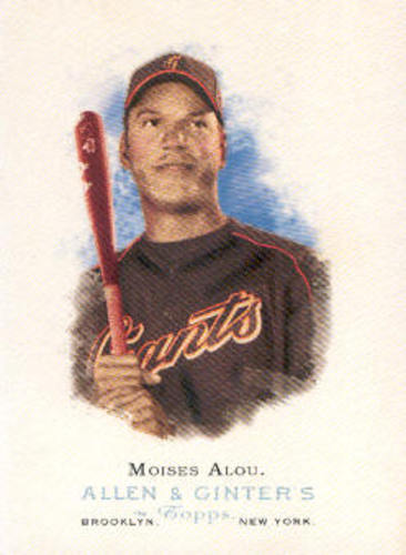 Photo of 2006 Topps Allen and Ginter #49 Moises Alou