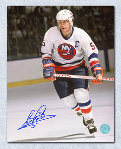 Denis Potvin New York Islanders Autographed Skating 16x20 Photo