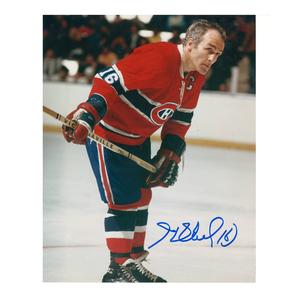 Legend HENRI RICHARD Signed Montreal Canadiens 8 X 10 Photo - 70009