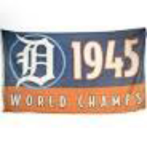 Photo of 1968 World Champs Flag