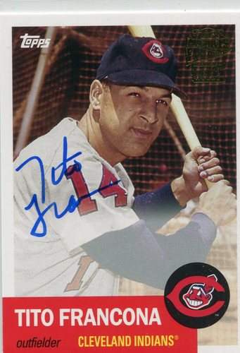Photo of 2016 Topps Archives Fan Favorites Autographs  Tito Francona
