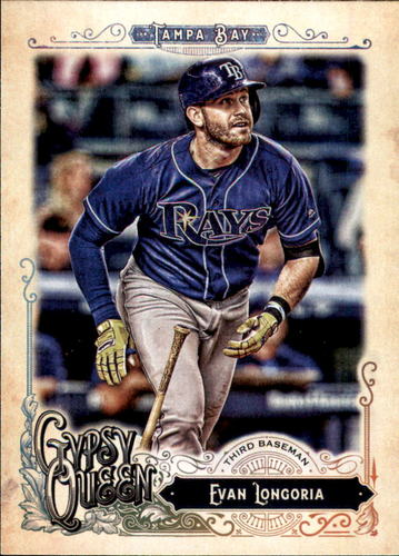 Photo of 2017 Topps Gypsy Queen #174 Evan Longoria