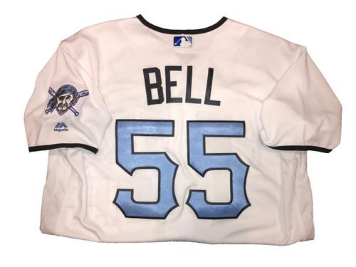 Photo of Josh Bell Game-Used Father's Day Weekend Jersey - Worn on 6/17 & 6/18