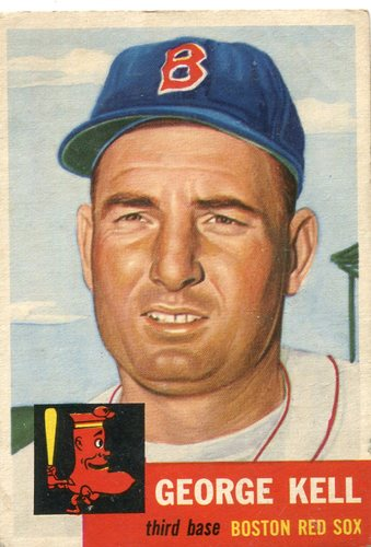 Photo of 1953 Topps #138 George Kell -- Hall of Famer