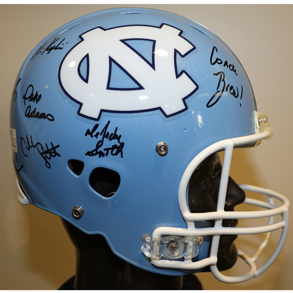 North Carolina Autographed Full-Size Football Helmet