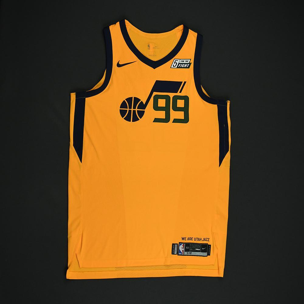 Jae Crowder - Utah Jazz - Game-Worn 'Statement' Jersey - 2017-18 Season