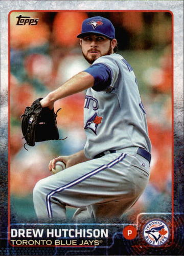 Photo of 2015 Topps #531 Drew Hutchison