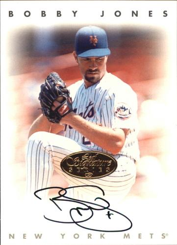 Photo of 1996 Leaf Signature Autographs Gold #119 Bobby Jones