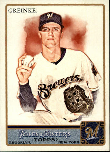Photo of 2011 Topps Allen and Ginter #345 Zack Greinke SP