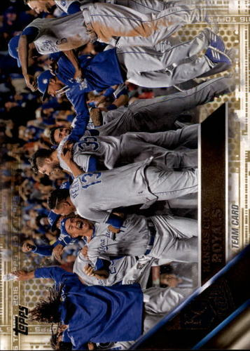 Photo of 2016 Topps Gold #399 Kansas City Royals