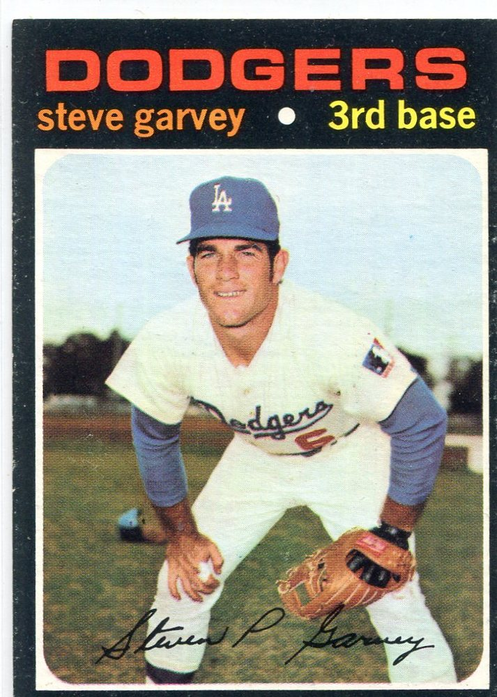 1971 Topps #341 Steve Garvey Rookie Card