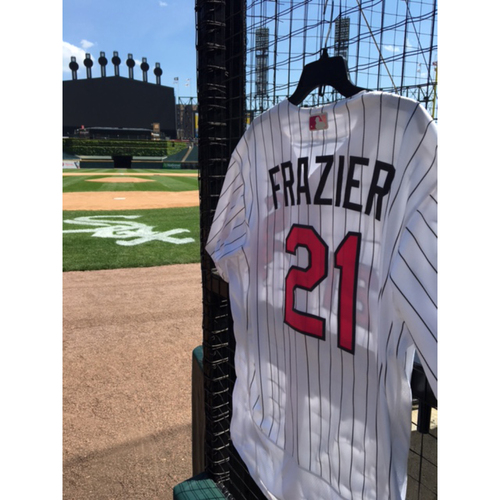 Photo of Todd Frazier Game-Used 2017 Mother's Day Jersey - Size 48