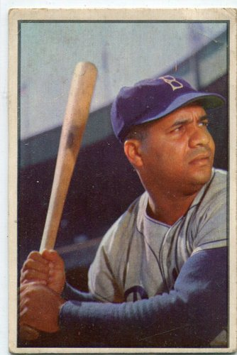 Photo of 1953 Bowman Color #46 Roy Campanella -- Hall of Famer