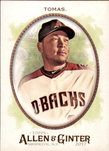 Photo of 2017 Topps Allen and Ginter #215 Yasmany Tomas