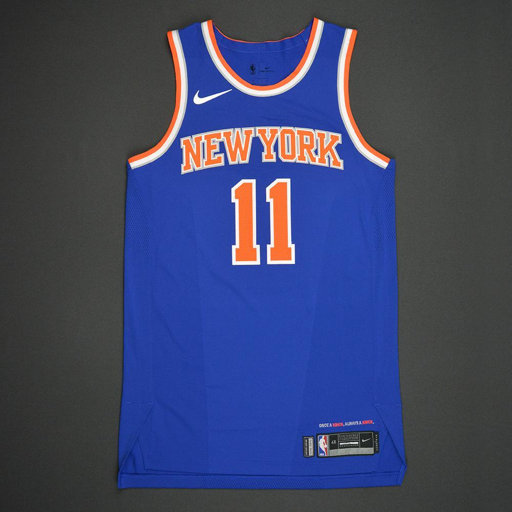 Frank Ntilikina - New York Knicks - 2017 NBA Draft - Autographed Jersey