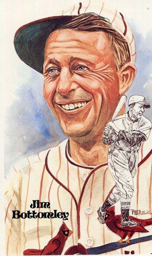 Photo of 1980-02 Perez-Steele Hall of Fame Postcards #142 Jim Bottomley -- Set #08689