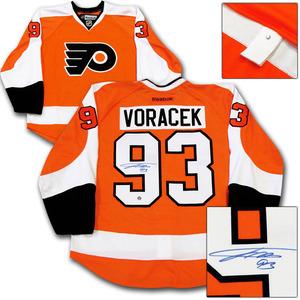 Jakub Voracek Autographed Philadelphia Flyers Authentic Pro Jersey
